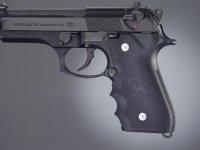 Hogue Griff für Beretta 92 - mit Fingerrillen