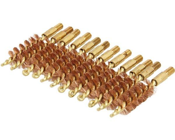 Dewey Bronzebürste für Kurzwaffen - 12er Pack