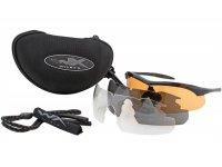 Wiley X Vapor Schießbrille grau + 1 Wechselscheibe