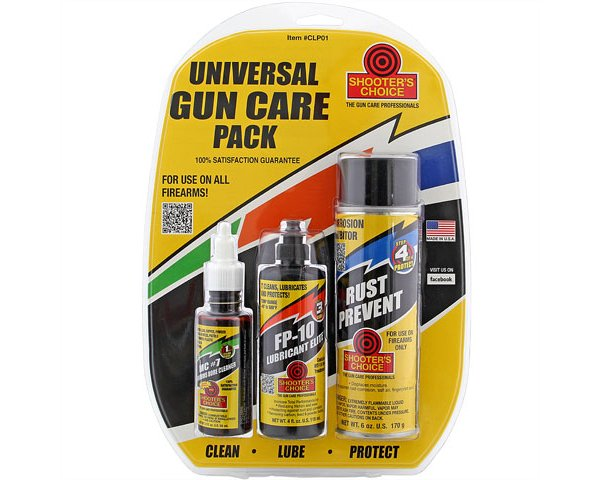Shooter's Choice Universal Gun Care Pack