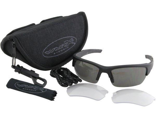 Wiley X Schutzbrille WX Valor Set klein
