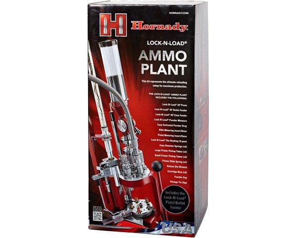Hornady Ammo Plant Presse inkl. auto. Geschoss- und Hülsenzufuhr
