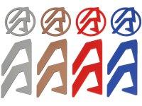 DAA farbiger Logoeinsatz für Alpha-X Holster