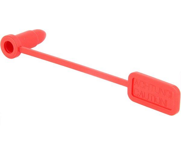 Sicherheitsfahne für Kaliber .38 / 9mm (2 Stück)