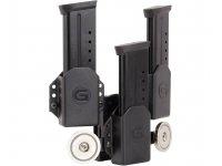 Foto 3: Ghost 3er Single Stack Magazinhatlter mit zwei Magneten