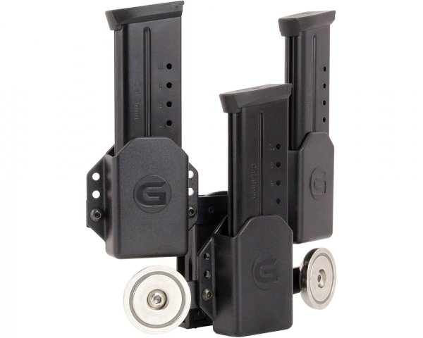 Ghost 3er Single Stack Magazinhatlter mit zwei Magneten