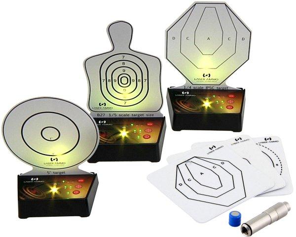 Laser-Ammo Bundle Surestrike 9mm + i-MTTS Targets 3er