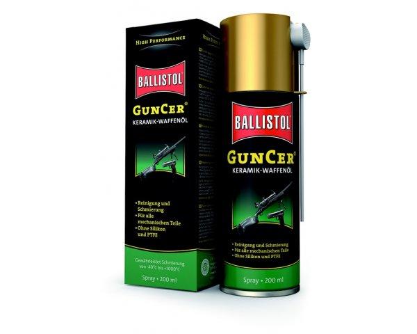 Ballistol GunCer Keramik-Waffenöl Spray 200ml